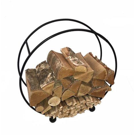 """main image of """"Log Basket Round"""""""