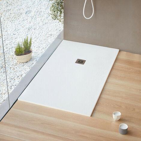 LOGIC plato de ducha 140x100, color blanco