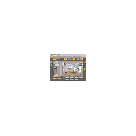 Logiciel de supervision et contrôle des installations MyHOME BUS BTICINO MHVISUAL