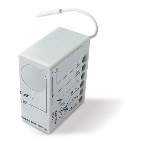 Logique commande récepteur radio intg. pour un moteur 230Vca