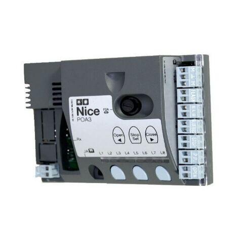 Logique de commande NICE Pour POP7124KCE et HOPPKCE - POA3