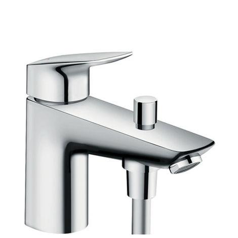 HANSGROHE Logis Mitigeur bain/douche monotrou avec cartouche 2 vitesses chromé