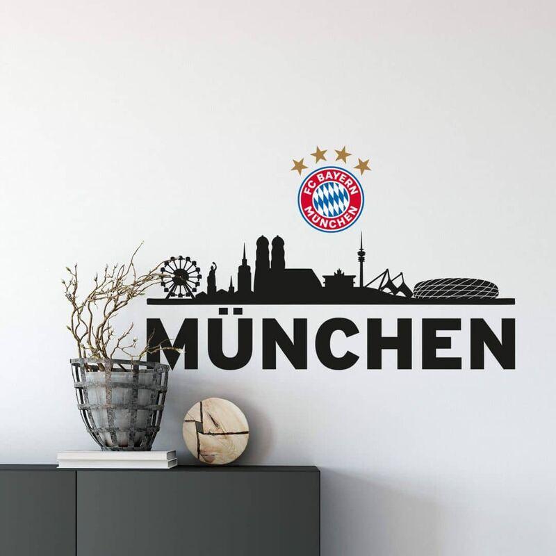 Logo Fc Bayern Mein Verein 60x40cm Wandtattoo Fcb10181