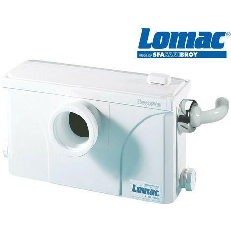 LOMAC SUVERAIN 3000-A les eaux usées unité de levage avec un seul tubesysteme