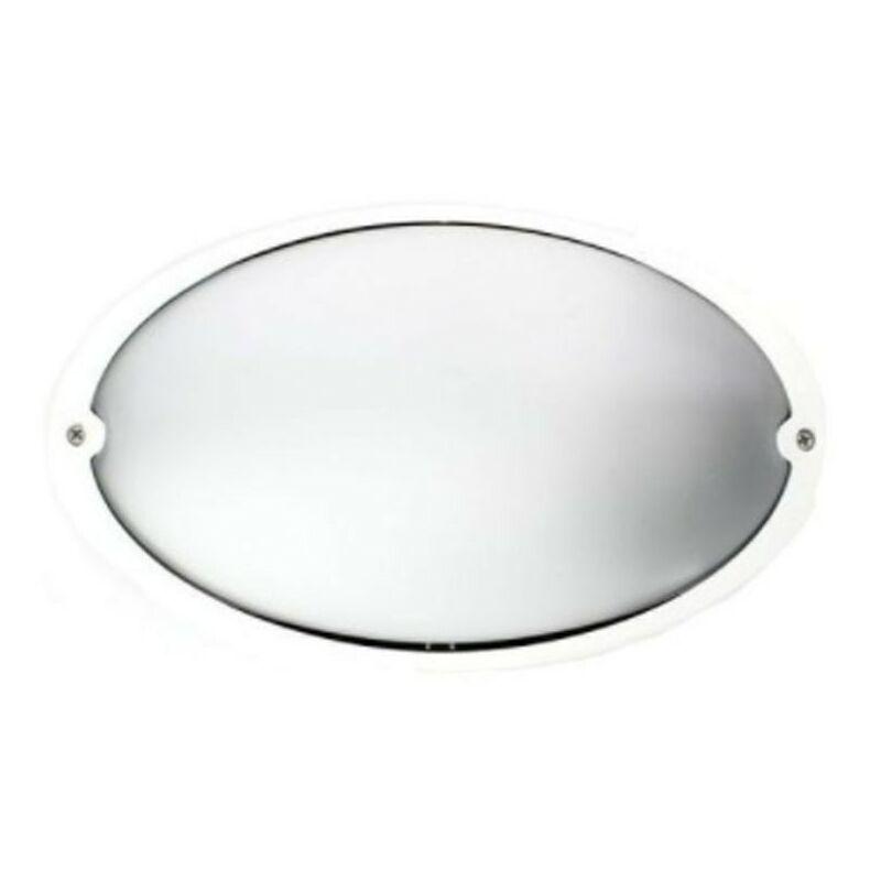 Plafoniera Lombardo Airy ovale bianca E27 IP54 LB82121