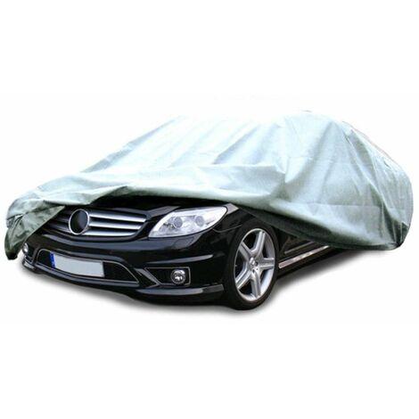 Lona cubierta coche talla M 431 x 165 x 119 cm para autos antipolvo VW Golf Audi