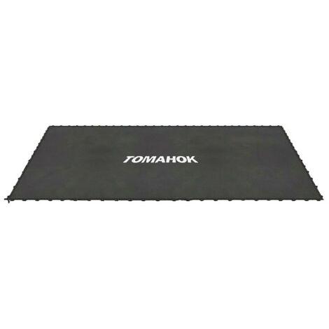 Lona elástica con soportes para cama elástica (Para cama 10x15FT - 4,57x3,05m)