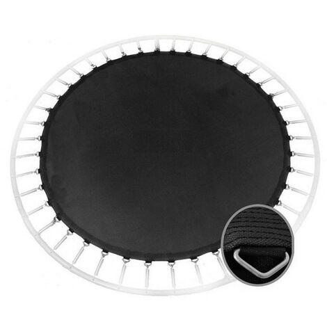 Lona elástica con soportes para cama elástica (Para cama 15FT - 4,60m)