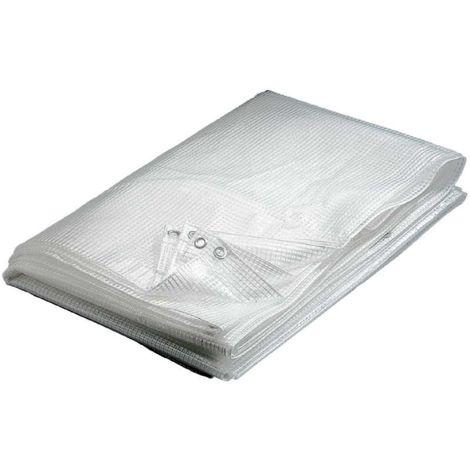 Lona transparente 160 g / m2 6 x 10 m - 6 x 10 m