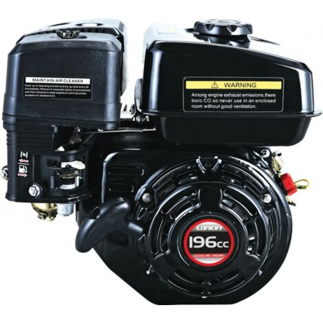 """main image of """"Loncin G200F-M Petrol Engine 20mm Parallel Output Shaft 6.5HP"""""""