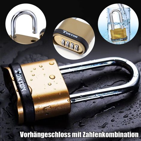 long handle safety padlock with password 4-digit Mohoo
