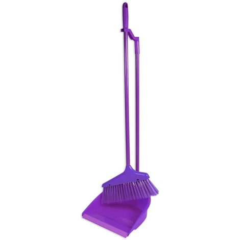 Long Handled Dustpan & Brush