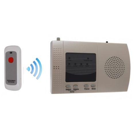 Long Range (900 metre) Wireless 'S' Alert System with Internal Push Button [006-2370]