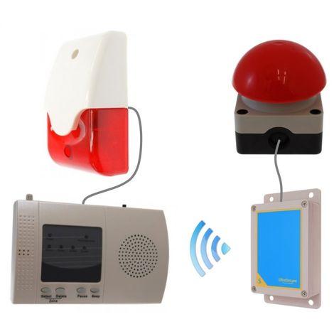 Long Range (900 metre) Wireless 'S Range' Panic Alarm (activity centre special) [009-3800]