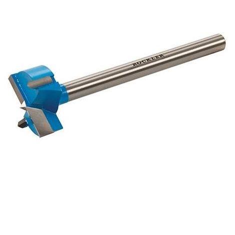 Long-Shank Carbide-Tipped Forstner Bit - 35mm