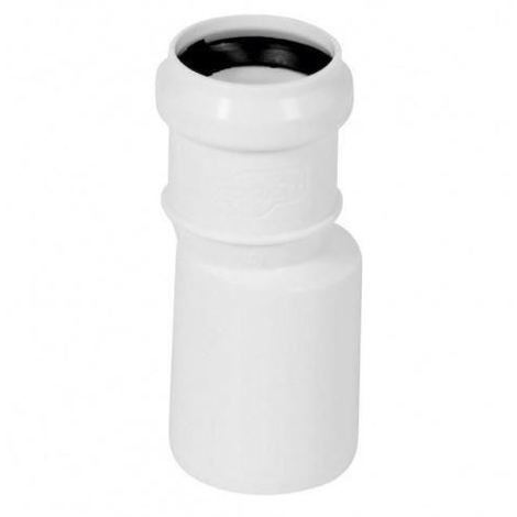 Long Straight Pipe Reduction Connector Sewage Sewerage System 50mm to 32mm