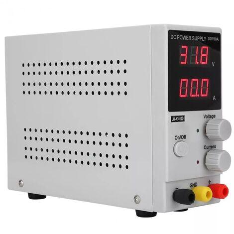 LONG WEI LW-K3010D 110V / 220V 30V 10A Pantalla digital LED ajustable Conmutacion de fuente de alimentacion CC, fuente de alimentacion regulada