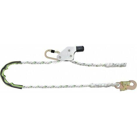 Longe en corde toronnée avec tendeur (plusieurs tailles disponibles)