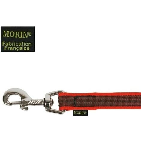 Longe gomme sans poignée - Rouge Désignation : Longe gomme sans poignée rouge | Longueur : 3 m | Largeur : Longe gomme sans poignée rouge MORIN 100820