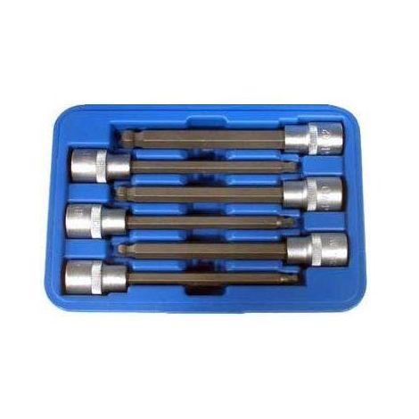 Longues douilles btr 140 mm de 5 à 12 mm