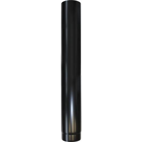Longueur droite acier noir 1000 mm - Ø 150