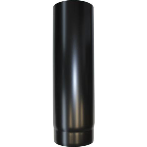 Longueur droite acier noir 500 mm - Ø 150