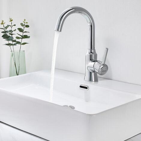 Lonheo Küche Einhandmischer Wasserhahn Chrom Armatur Mischbatterie Küchenmischbatterien