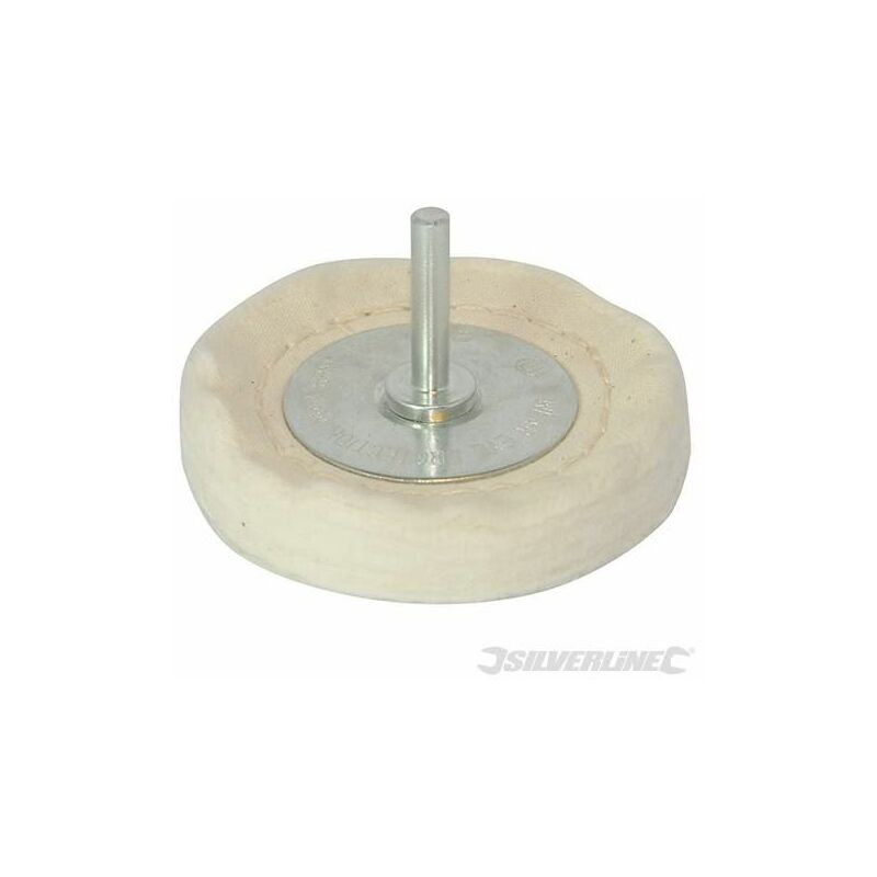 Features 50 layers of 100/% cotton and 6mm shaft Suitable for most power drills. Power Tool Accessories Polishing Loose Leaf Buffing Wheel 100mm x 15mm For final polishing of metals and for use on complex shapes