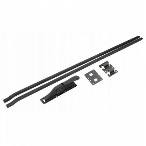 Loquet de garage + baskwil baskwile 232 cm noir