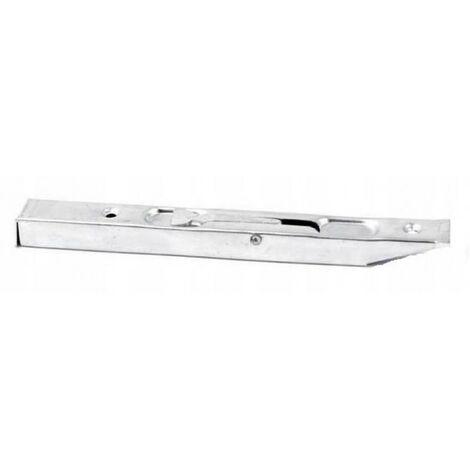 Loquet de porte en porte-à-faux étroit 16 cm zinc