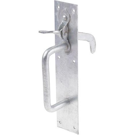 Loquet pour portail RS PRO en Acier, Finition Galvanisé, type: Loquet Suffolk