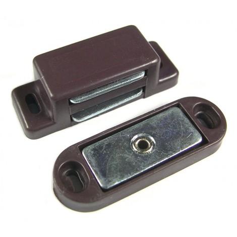 Loqueteau magnétique 4 kg - marron