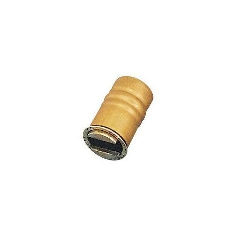 Loqueteau magnétique à encastrer - Force : 5 kg - Décor : Laiton - ARELEC