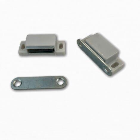 Loqueteau magnétique rectangulaire à pattes - plusieurs modèles disponibles