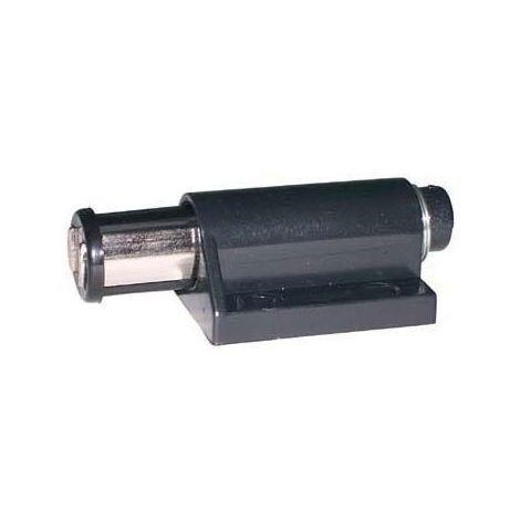 Loqueteau magnétique sur platine - Décor : Noir - ADLER