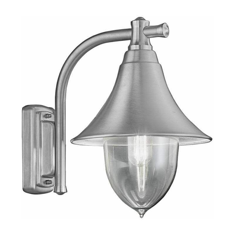 Image of 15-franklite - Lorenz stainless steel garden wall lamp 1 bulb