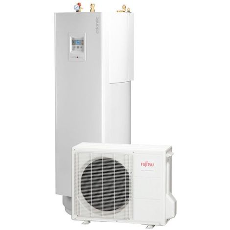 Loria duo 6008 ATLANTIC 7.5 Kw pompe a chaleur inverter air eau A++ / Bi-bloc