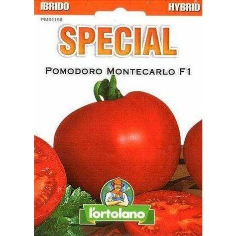 L'ortolano Pomodoro Montecarlo Ibrido F1 - Busta Sementi