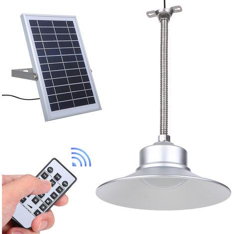 Los colgantes solar luz de techo con control remoto Control de Tiempo Ajuste regulable 3W 36LEDs interior / exterior para colgar la linterna de la lempara IP65 resistente al agua