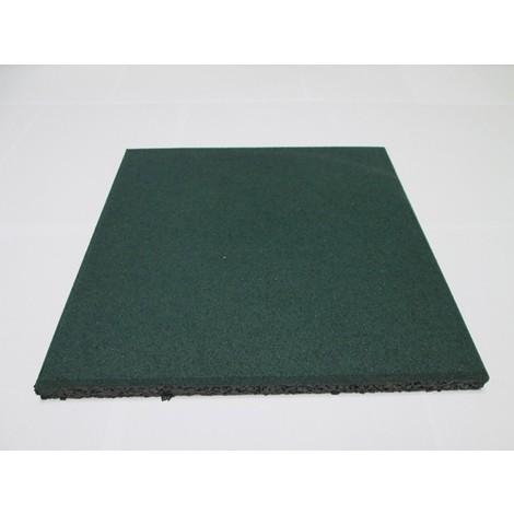 Loseta Caucho Granul.Verde 50X50X2Cm - DEGOM - 2693