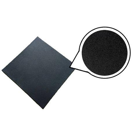 Loseta de caucho alta densidad 1x1m - Granulado Fino