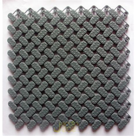 LOSETA SUELO PISCINA JARDIN202 25X25 CM GRIS