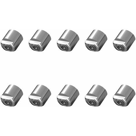Lot 10 cylindres de sécurité pour cimaise Click Rail - Cylindre sécurité rail cimaise oblique