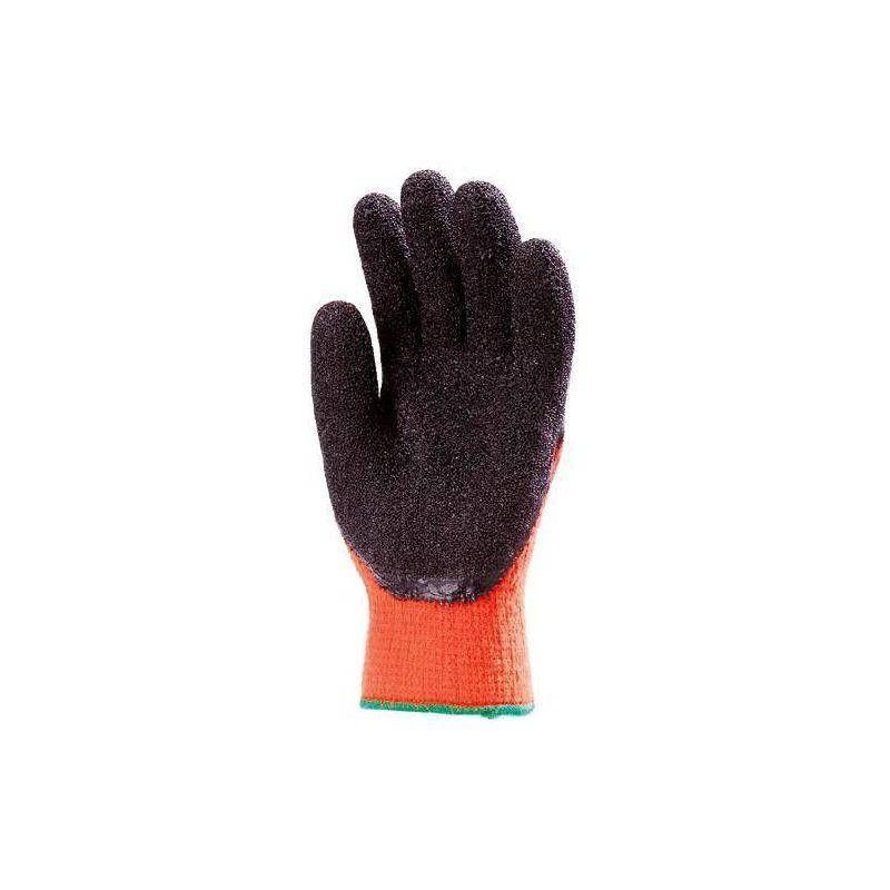 Lot 10 paires de gants Anti-froid HIVIZ Paume enduit latex - T. 10 - Coverguard