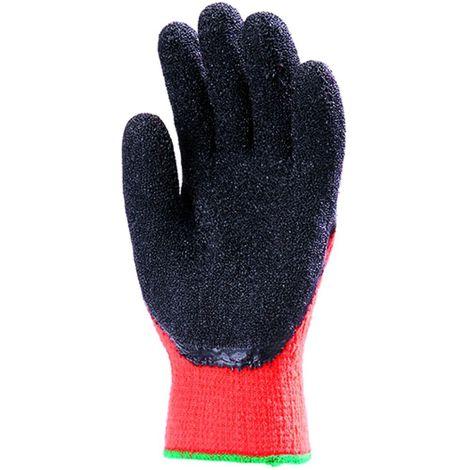 Lot 10 paires de gants Anti-froid HIVIZ Paume enduit latex Coverguard