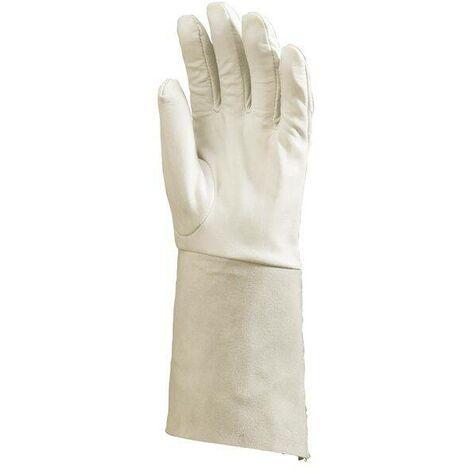 Lot 10 paires de gants de soudure avec manchette 15 cm Coverguard