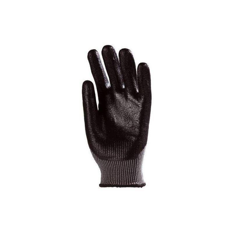 Lot 10 paires de gants multifibres dos aéré enduit Nitrile - T. 10 - Coverguard