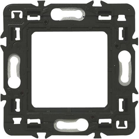 Lot 10 Support pour fixation à vis Batibox - 2 modules