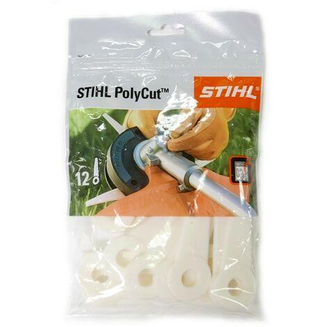 Lot 12 couteaux pour PolyCut 6-3 Stihl