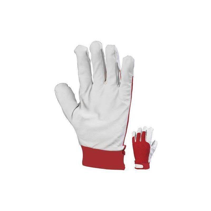 Paire de gants de manutention en cuir de porc - T. 10 - Coverguard